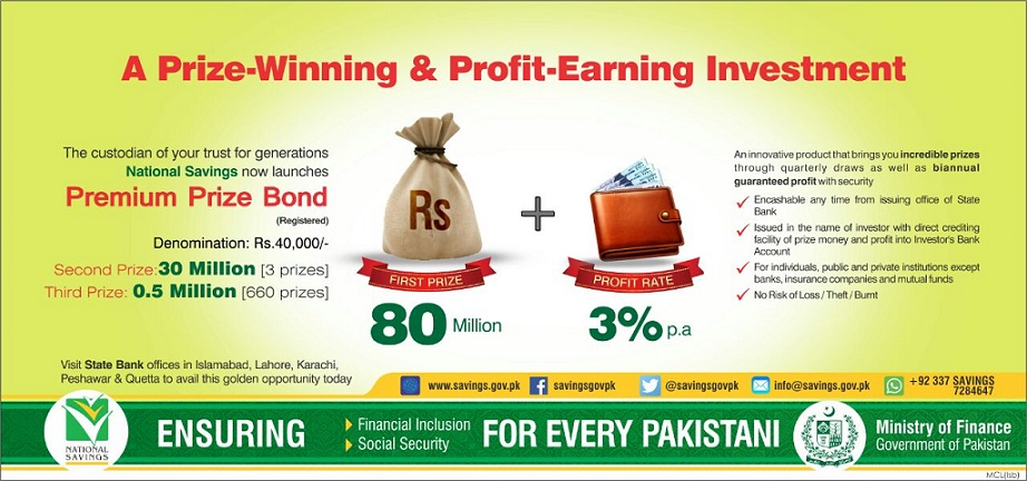 40000 Premium Prize Bond Prizes Denominations