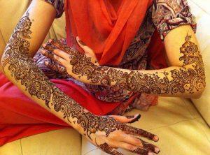 full hand to shoulder mehndi designs 2013