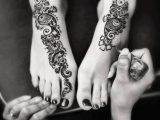 full feet mehndi designs