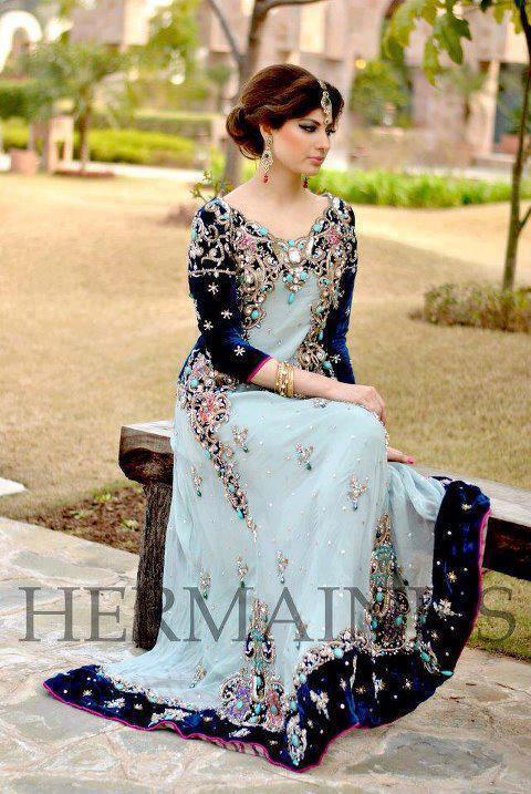 new pakistan fashion dresses 2013