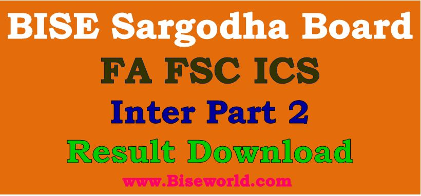 Sargodha Board 12th Class Result 2021