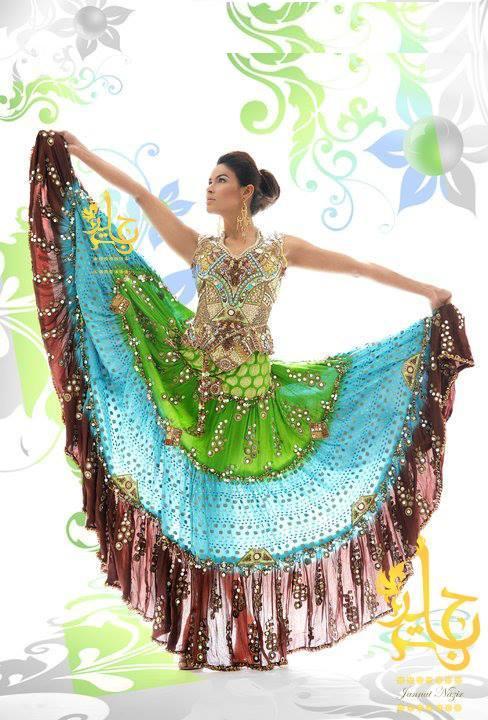 New Eid Fashion Dresses 2013