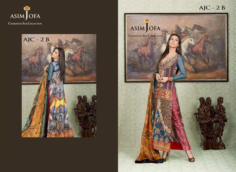 Asim Jofa Silk Dresses