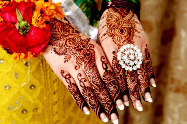 Marriage Shadi Mehndi Designs 2014