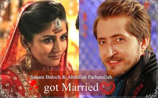 Sanam Baloch Marriage Pictures