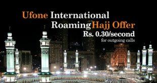 online ufone international hajj offer offer