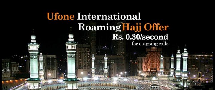 online ufone international hajj offer