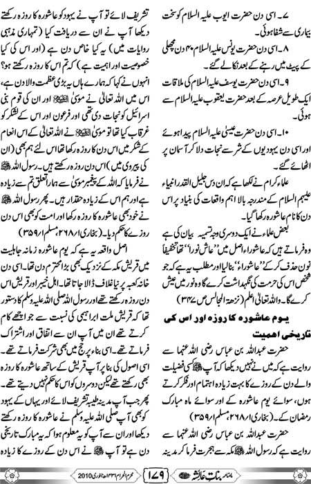 Complete History Muharram in Urdu