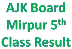 Azad Kashmir 5th Class Result 2014