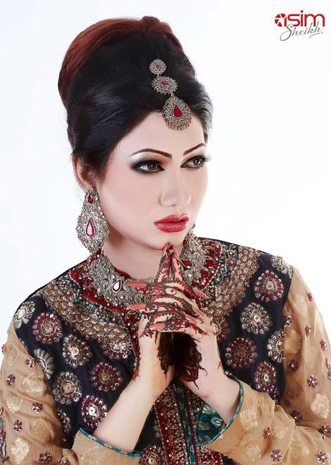 rose beauty parlour bridal makeup pics
