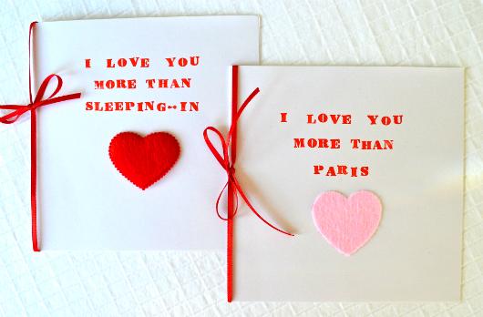 Valentine Day Wife Cards 2014