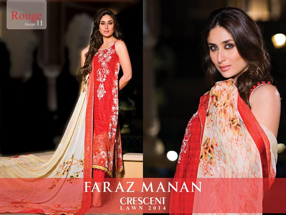 Faraz Manan Dresses 2014