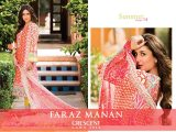Faraz Manan Part Wear Dresses 2014