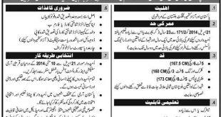 2014 Pakistan Army Jobs