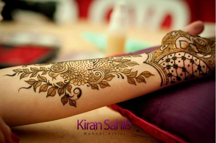 Kiran Henna Artist Designs 2015