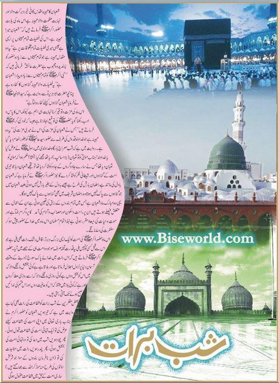15 Shaban History in Urdu