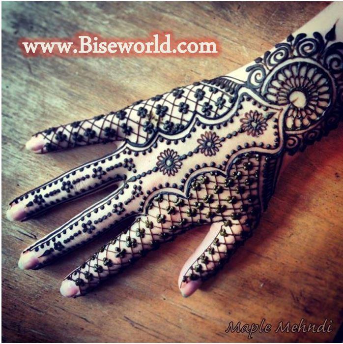 Dubai Girls Hand Henna Designs 2015