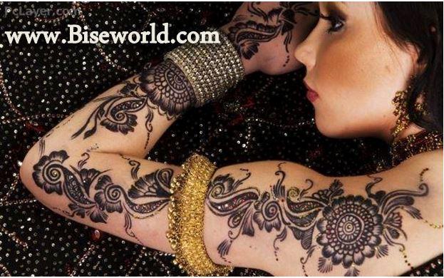 Indonesia Shoulders Henna Designs 2016