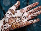 New Stylish Henna Hands Designs 2017