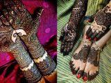 Bridal Henna Foots Hands Designs 2017