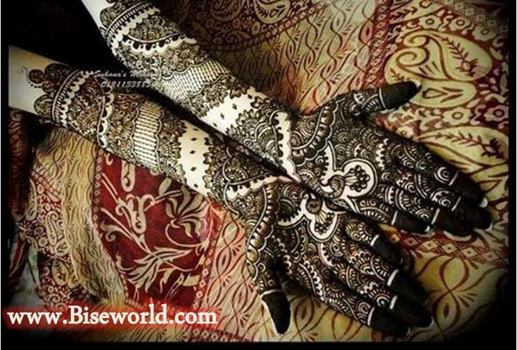 Bridal Dil Shape Henna Tattoos Designs 2016