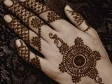 Eid Simple Hands Henna Designs 2017