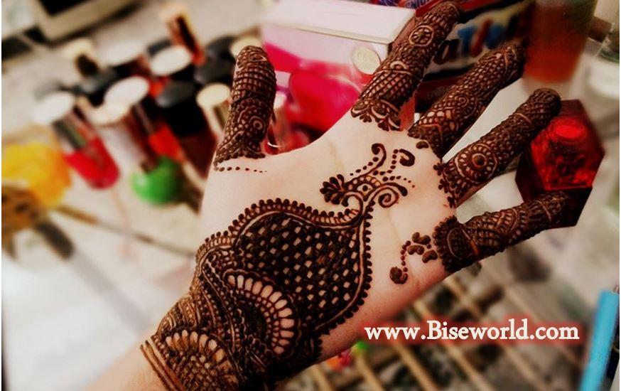Eid Female Hand Henna Designs 2015