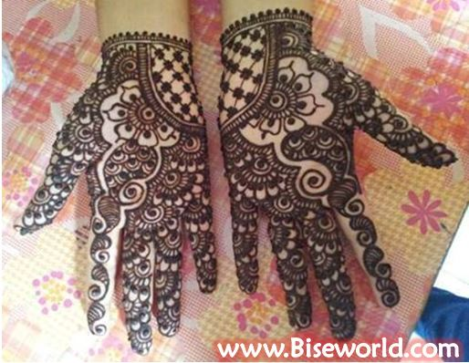 Eid-ul-Fitr Girls Hands Henna Designs 2015