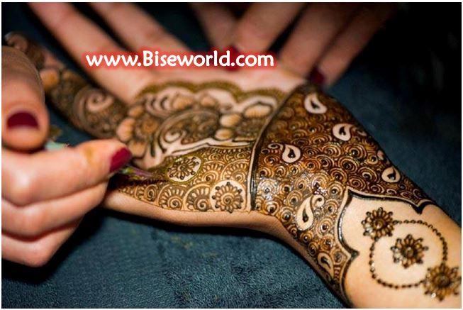 Girls Beautiful Hands Henna Designs 2015
