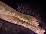 Bridal Full Legs Henna Designs 2017