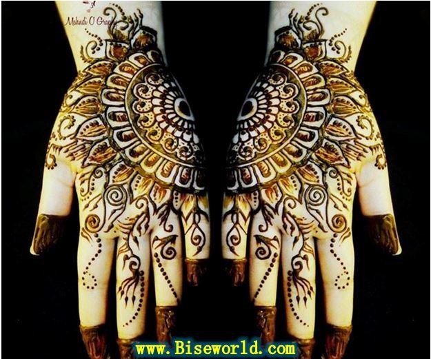 India Bridal Hands Henna Designs 2015
