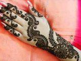 New Indian Girl Hand Mehndi Designs 2017