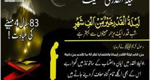Lailatul Qadr Islamic Hadees Wallpapers