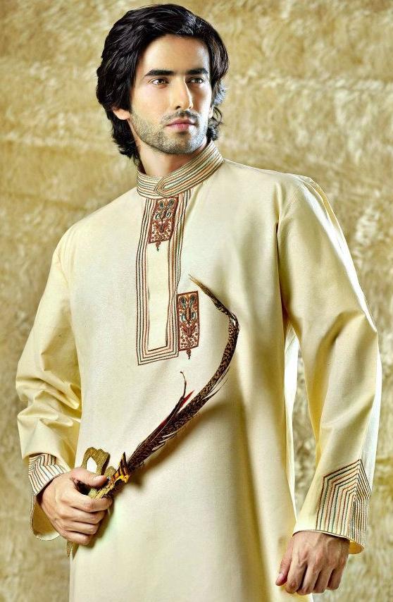 Latest Men Marriage Sherwani Style 2016