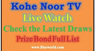 Online Live Kohenoor TV Streaming