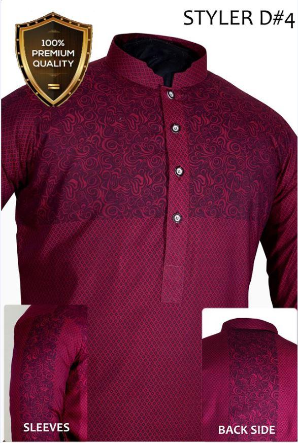 Eid-ul-Adha Boys Red Kurta 2017