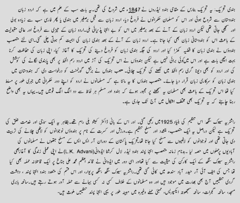 Pakistan Resolution Day Essay in Urdu