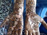 Girl Mehandi Designs