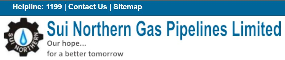 SNGPL Sui Gas Bill Duplicate Download