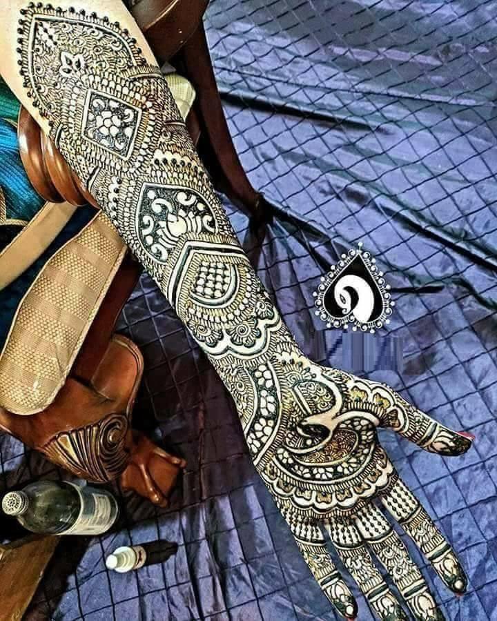 Full Hand Henna Designs 2017-18