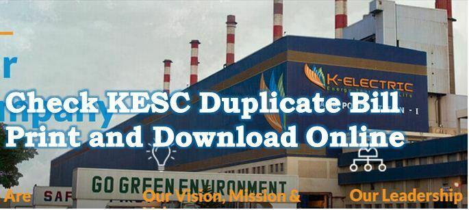 Karachi Electricity Duplicate Bill Download Online and Print