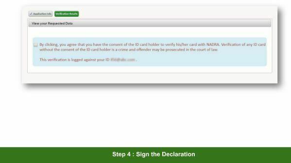 NADRA CNIC Verification Check Status Online