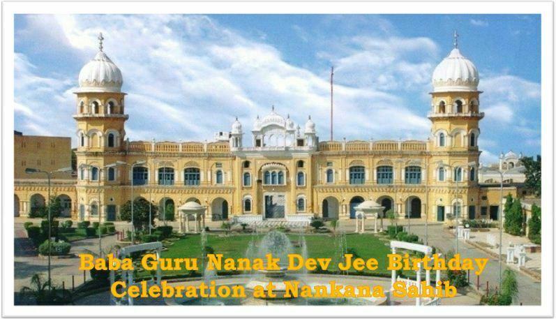 Birthday Celebrations Baba Guru Nanak Dev Jee 2018
