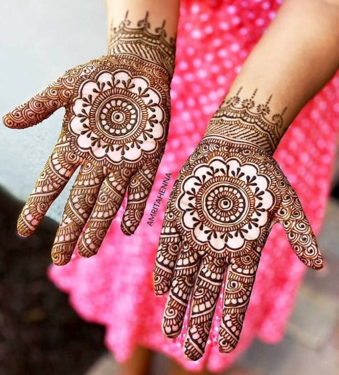 New Fashion Henna Designs 2019 for Girls