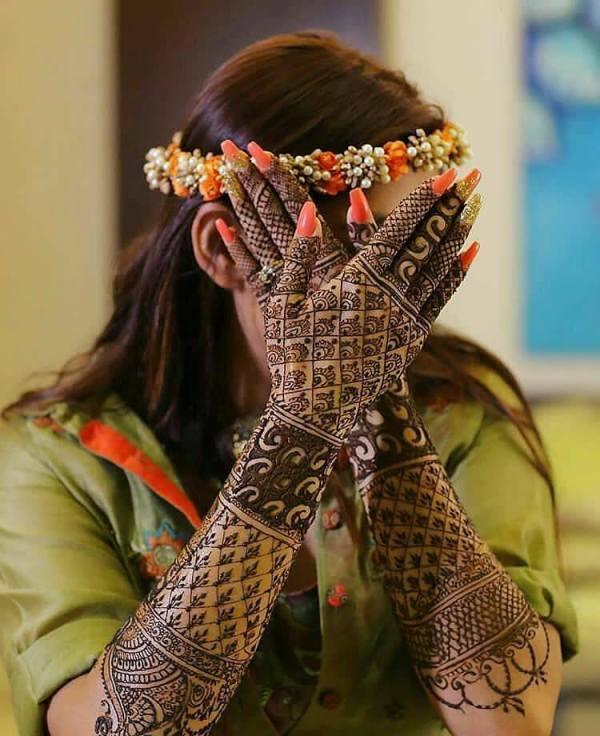 Fashionable Arabic Hand Designs 2019 Henna