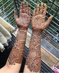 Fantastic Hand Henna Designs 2021