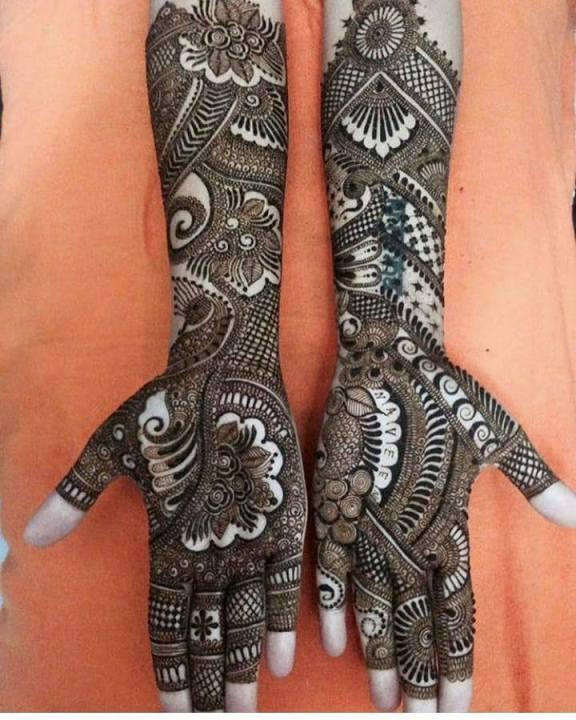 Latest Beautiful Hand Henna Deisgns 2019