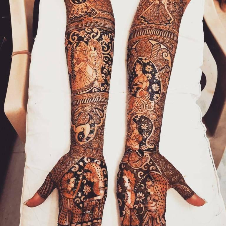 Latest Henna Tattoos Designs 2019 for Girls