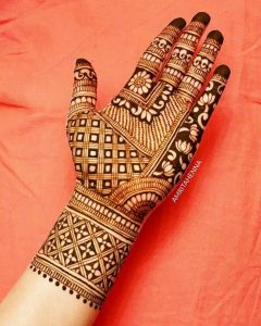 Girl Hand Pakistani Hinna Designs 2019