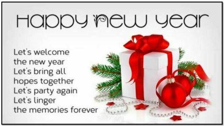 Wishing Happy New Year 2019 SMS Urdu, Hindi & English